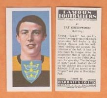 Hull City Pat Greenwood 41